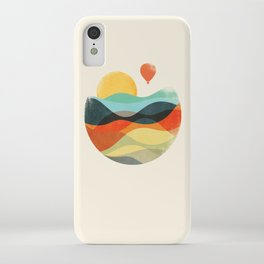 Let the world be your guide iPhone Case