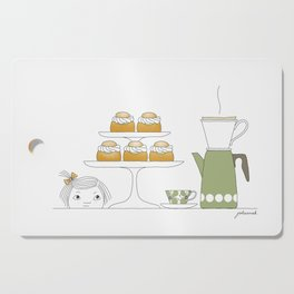 Fika with Semlor Cutting Board