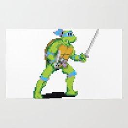Pixelated Teenage Mutant Ninja Turtles (TMNT) - Leonardo Rug