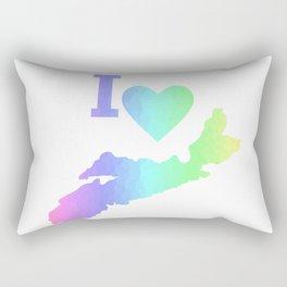 I Love Nova Scotia Pastels - Canada Rectangular Pillow