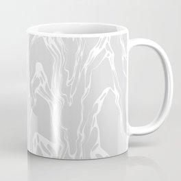 FOAM off-white & warm grey marble pattern Coffee Mug