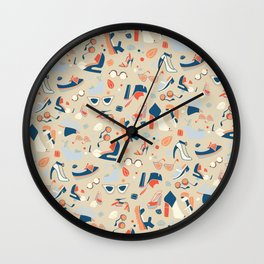 Shoe Craze Wall Clock