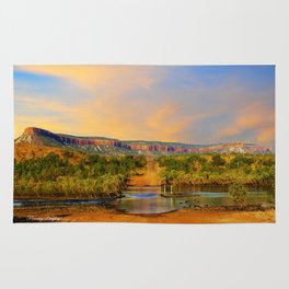 Sunset on the Cockburn Range - The Kimberley Rug