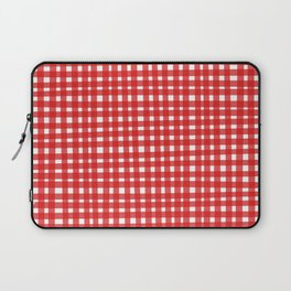 Red Gingham Laptop Sleeve