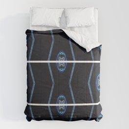 blue brain Comforters