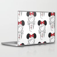 minnie Laptop & iPad Skins featuring Minnie 1 by Little Moon Dance