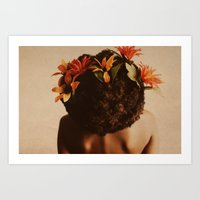 afro Art Prints featuring Growth by StudioArielle.com