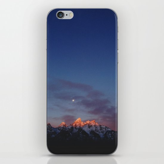 Teton Tips iPhone & iPod Skin