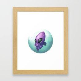 Baby Cthulhu Framed Art Print