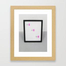 Out of art Framed Art Print