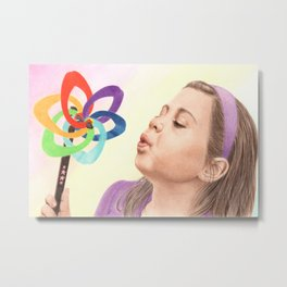 Child's Toy Metal Print