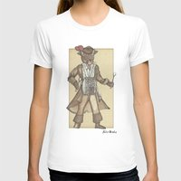 drum T-shirts featuring Drum Cat by Felis Simha