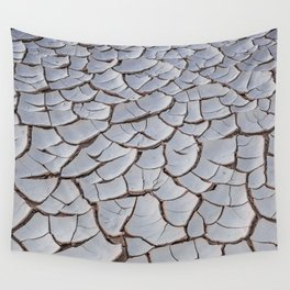 Cracked Earth Wall Tapestry