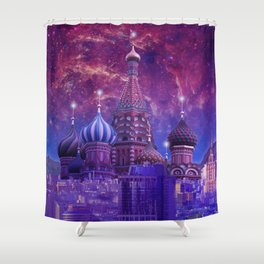 Hipsterland - Moscow Shower Curtain