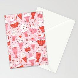 Sweet Ice Cream Stationery Cards