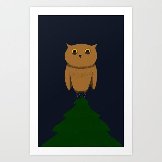 Shaky 2 Art Print