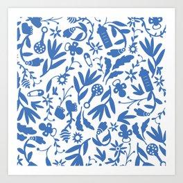 Baby motif Art Print