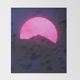 Without You (New Sun II) Throw Blanket