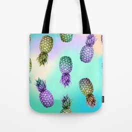 Pineapple Glow Tote Bag