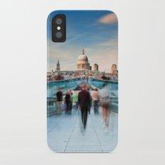 On The Bridge iPhone X Slim Case
