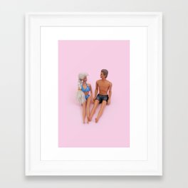 Barbie summer Framed Art Print