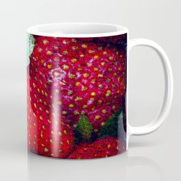 Pile Of Red Strawberries Coffee Mug