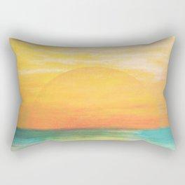 Summer Sunset Rectangular Pillow