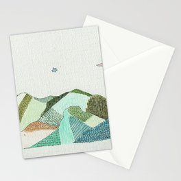 Mountain's Dream Stationery Cards