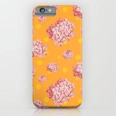 hydrangea polka iPhone 6s Slim Case