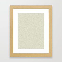 Beige Saturated Pixel Dust Framed Art Print
