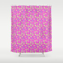 The Summer of Love - Part Ru Shower Curtain