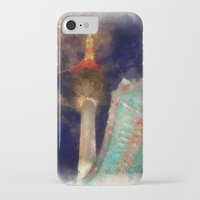 seoul iPhone & iPod Cases featuring Seoul Tower by Marisa Johnson :: Art & Photography