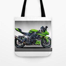 Kawasaki Motorbike Tote Bag