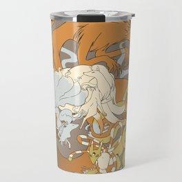 Kitsune group Travel Mug