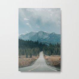 June Lake Loop Metal Print