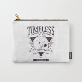Timeless Skull #1 Carry-All Pouch