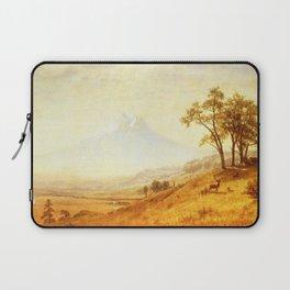 Mount Hood 1863 By Albert Bierstadt | Reproduction Painting Laptop Sleeve