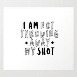 my shot Art Print