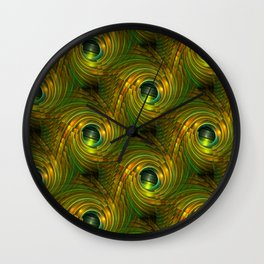 3D - abstraction -44- Wall Clock
