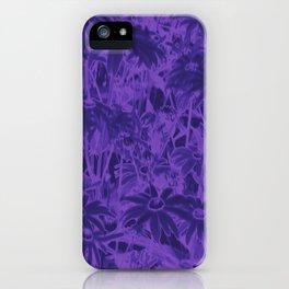 Echinacea serotina Lilac Rudbeckia  iPhone Case