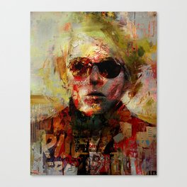Icon number 5 Canvas Print