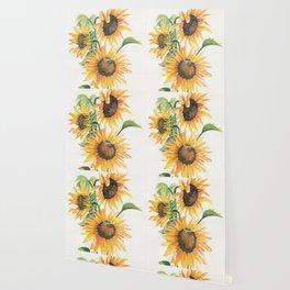 Sunny Sunflowers Wallpaper