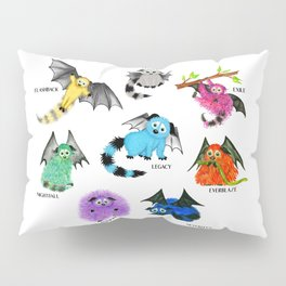 Eight Little Iggys Pillow Sham