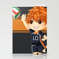haikyuu Stationery Cards featuring Haikyuu!! by Nozubozu