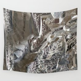 Silver Crystal First Wall Tapestry
