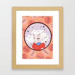 Kitty Kat! Framed Art Print