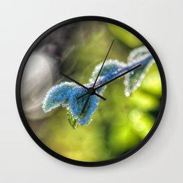 First hoar-frost Wall Clock