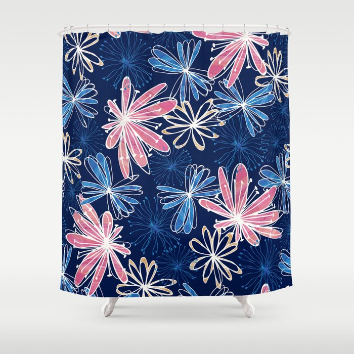 Gossamer Fields Shower Curtain