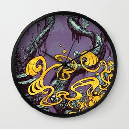 Epiphycadia III: Violet Wall Clock