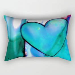 Heart Dreams 1F by Kathy Morton Stanion Rectangular Pillow